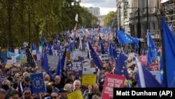 Демонстрация противников Брекзита