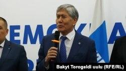 Алмазбек Атамбаев. 22 февраля 2019 года.