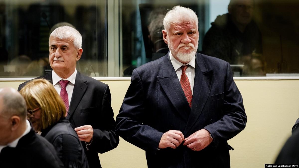 Slobodan Praljak General >> UN War Crimes Court For Yugoslavia Delivering Final Verdict