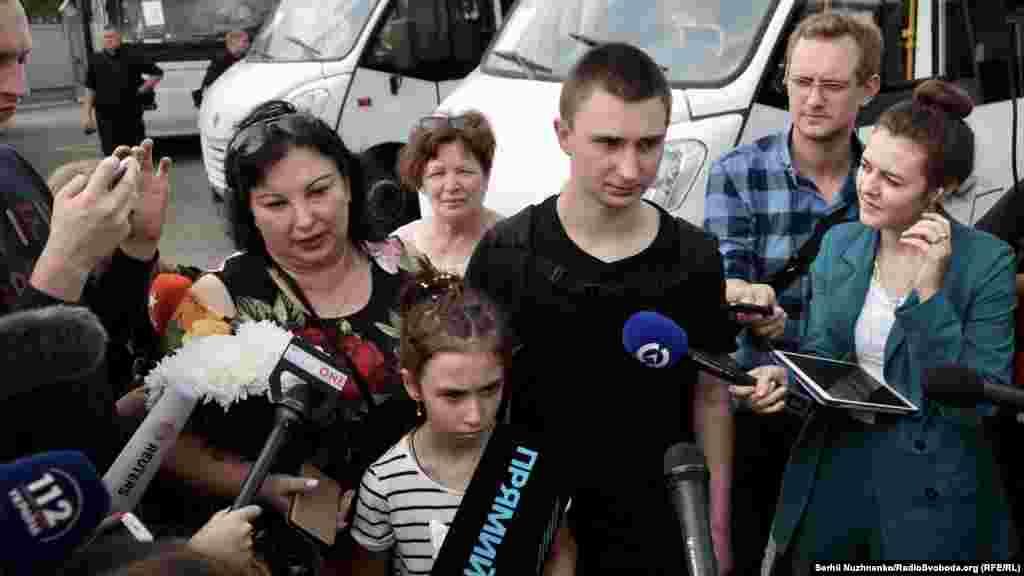 В'ячеслав Зінченко, старший матрос МБАК «Нікополь»