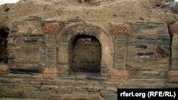 Древнее сооружение, обнаруженное на месте раскопок Мес Айнак в провинции Логар.