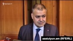 Министр юстиции Давид Арутюнян (архив)
