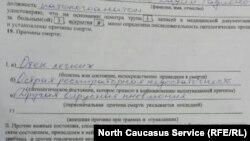 В Северной Осетии родственники умерших заявляют о занижении статистики смертей от коронавируса