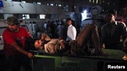 Выбух у Карачы 21 красавіка