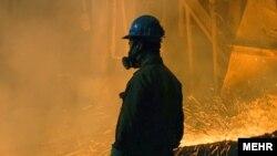 Рабочий на медном руднике. Иллюстративное фото.