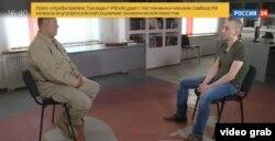 """Фрагмент из """"интервью"""" со Станиславом Асеевым на телеканале """"Россия 24"""""""