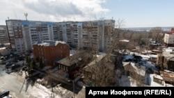 Томск. Наступление девятиэтажек. 2018