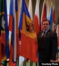 Vlad Lupan, în timpul mandatului său de ambasador la ONU