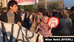 Sedmi 'Protest protiv diktature'