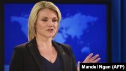 Zëdhënësja e Departamentit amerikan të Shtetit, Heather Nauert