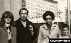 Gheorghe Babu Ursu într-o fotografie de familie