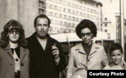 Георге Бабу Урсу с семьей