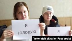 В Луганской области жены шахтеров объявили голодовку