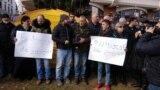 Georgia -- Cyanide Case - Karavi - Dekanozi Mamaladze, Protest action, Tbilisi, 17Feb2019