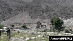 The Afghan border with Pakistan in Kunar Province, Nari district (file photo)