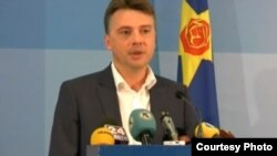 Портпаролот на СДСМ Петре Шилегов.