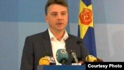 Портпаролот на СДСМ Петар Шилегов.