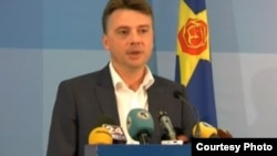 Претседателот на Анкетната комисија, Петре Шилегов од СДСМ.
