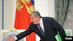 "Орусиялык ""Росснефть"" компаниясынын жетекчиси Игорь Сечин."
