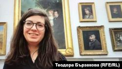 Красимира Кунева, ръководител продажби на отдела за съвременно британско изкуство в Chiswick Auctions