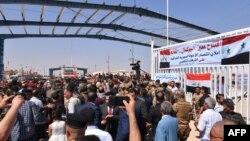 Открытие КПП на границе Сирии и Ирака, 30 сентября 2019