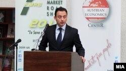 Архивска фотографија: Министерот за образование Спиро Ристовски.