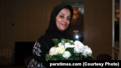 Iranian editor and journalist Shahla Sherkat (file photo)