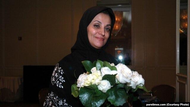 Iranian editor and journalist Shahla Sherkat (file photo)