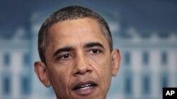 Америка президенті Барак Обама.