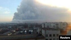 Dim iznad grada Balakleja