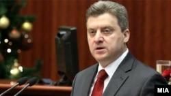 Архивска фотографија: Претседателот Ѓорге Иванов.