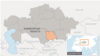 Жамбылская область на карте Казахстана.