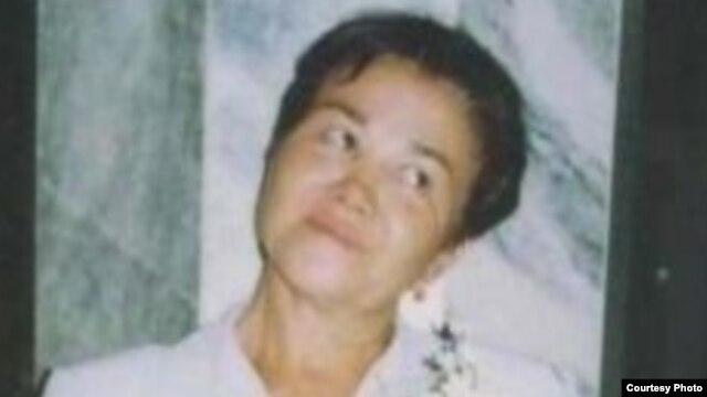 RFE/RL Turkmen Service correspondent Ogulsapar Muradova, who died in 2006