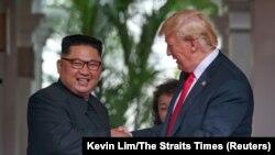 Сустрэча Дональда Трампа і Кім Чэн Ына 12 чэрвеня 2018