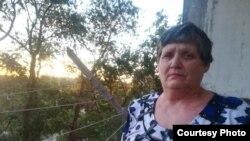 63-летняя Наталья Уласик у себя дома в Жезказгане, июнь 2019 года. Фото из семейного архива.