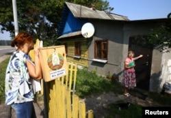 Парламентские выборы в Белоруссии. Голосование на дому