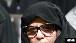 Fatemeh Karrubi, the wife of Mehdi Karrubi