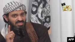 A still from a 2009 video shows former Guantanamo detainee Abu Sufyan al-Azdi.