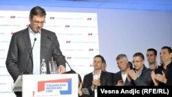 Aleksandër Vuçiq, 24 prill 2016