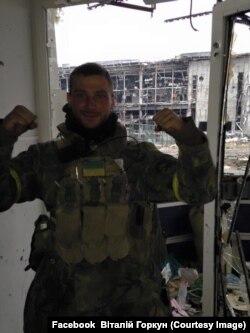 Віталій Горкун, оборонець Донецького аеропорту. Осінь 2014 року