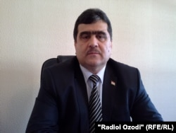 Валихон Муллоев, муовини аввали сардори Раёсати мубориза алайҳи ҷиноятҳои муташаккили ВКД.