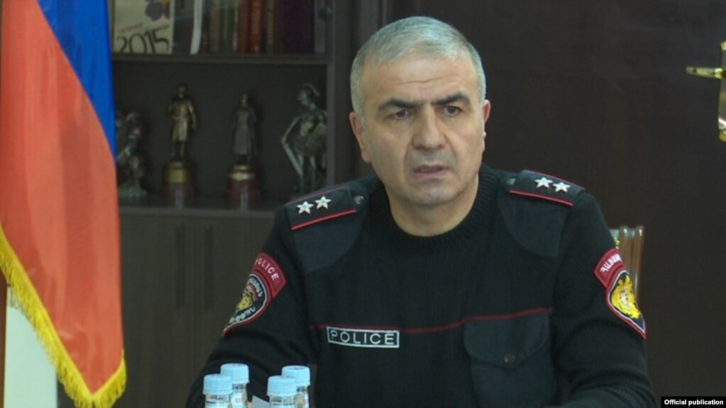Замначальника Полиции Армении Унан Погосян