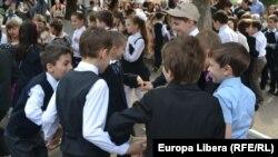 Elevi ai Liceului Mircea Eliade