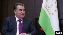 Tajik President Emomali Rahmon's campaign against terrorism was cited in a report on media freedom.