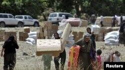 سكان هجروا قراهم الحدودية قرب جبل قنديل نتيجة القصف الإيراني