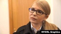 Кандидатка в президенти Юлія Тимошенко