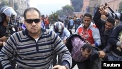 Насилството на протестите во Каиро