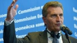 Комісар ЄС з питань енергетики Ґюнтер Еттінґер