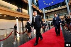 Президент Петро Порошенко в Європарламенті у Страсбурзі, архівне фото 2017 року
