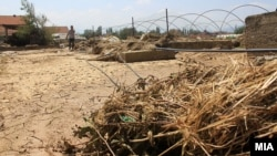 Архивска фотографија - Поплавено обработливо земјиште во Стајковци.